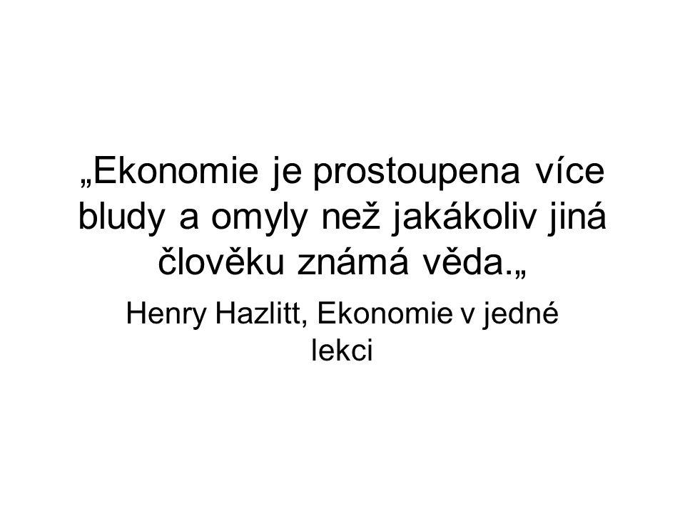Henry Hazlitt, Ekonomie v jedné lekci