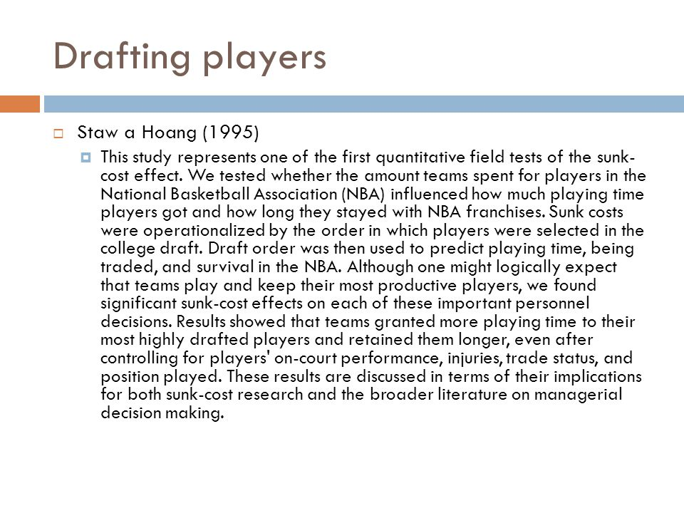 Drafting players Staw a Hoang (1995)