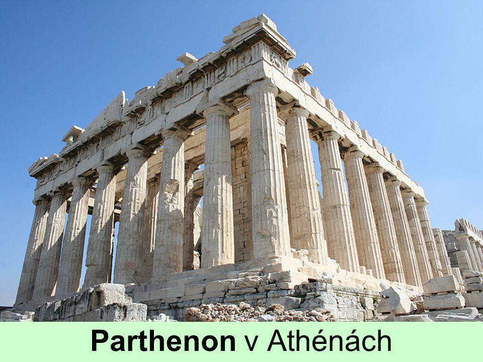 Parthenon v Athénách