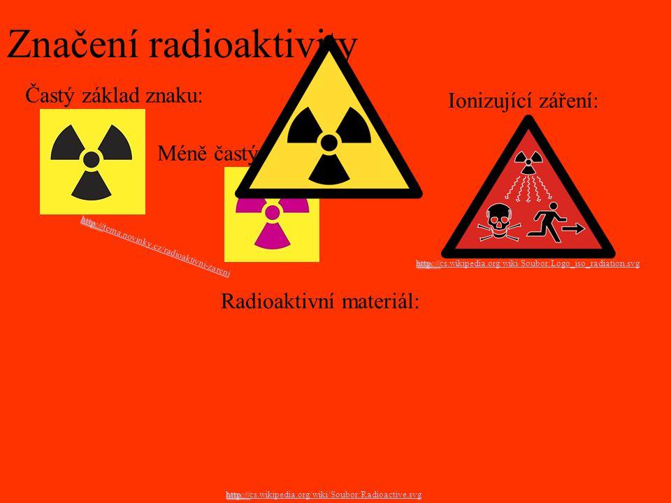 Značení radioaktivity