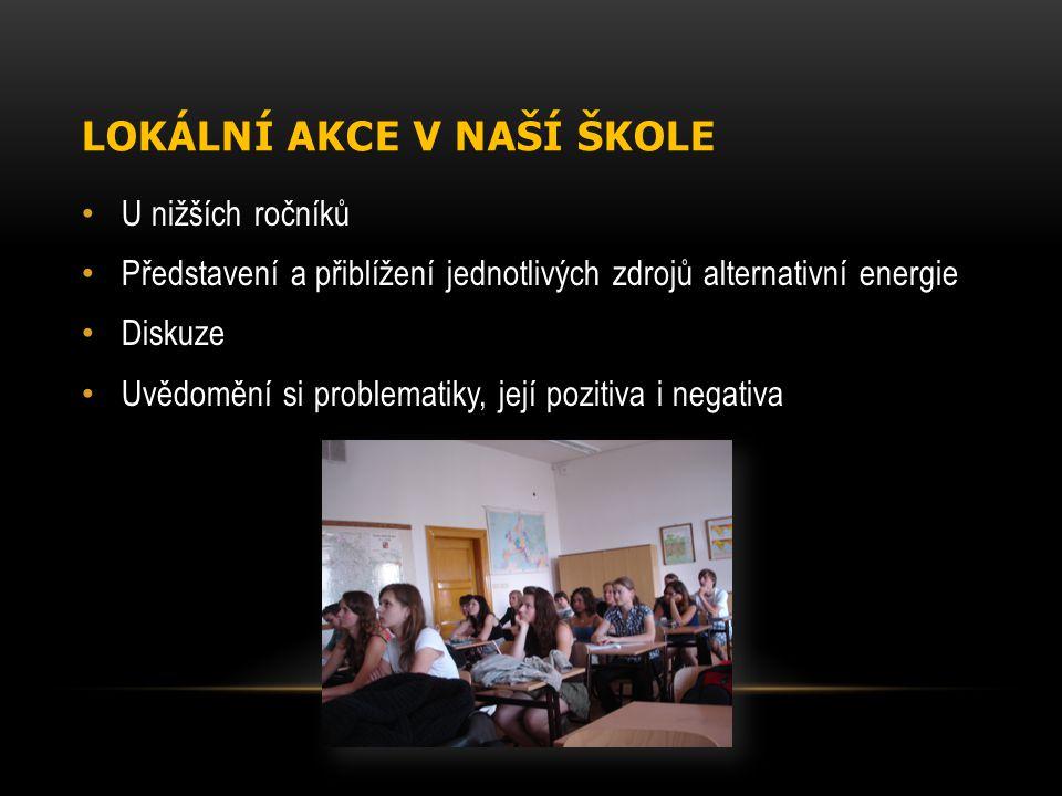 Lokální akce v naší škole