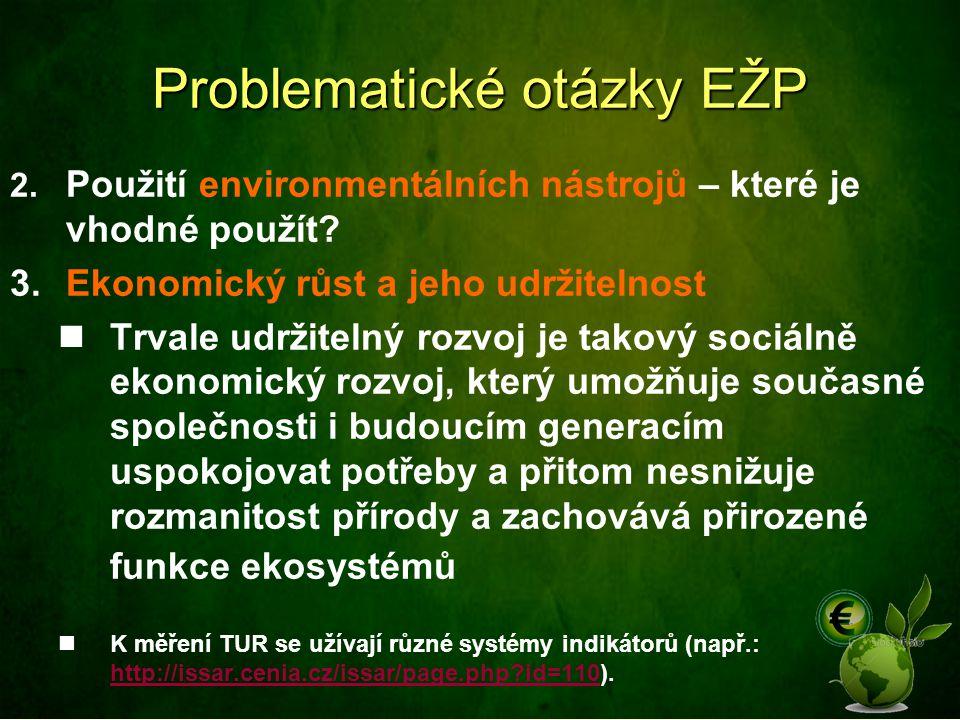 Problematické otázky EŽP
