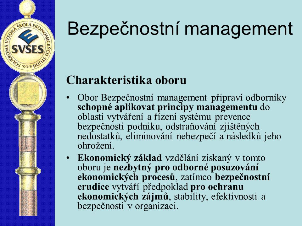 Bezpečnostní management
