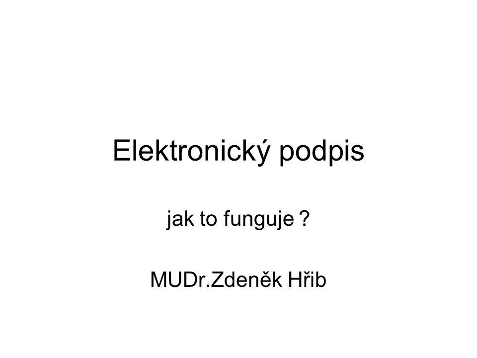 jak to funguje MUDr.Zdeněk Hřib