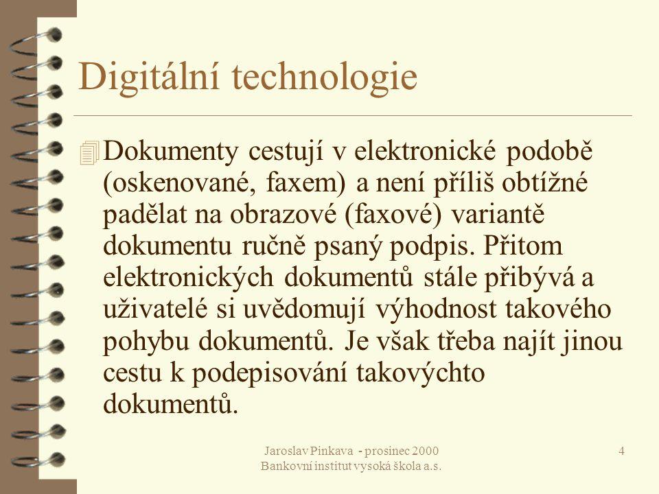 Digitální technologie