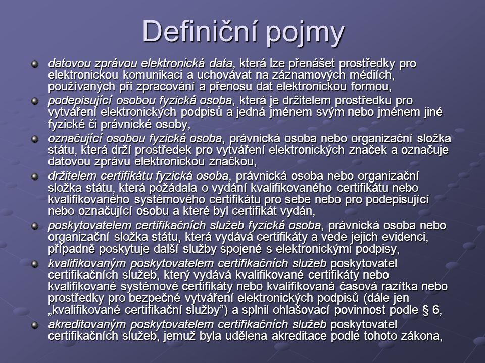 Definiční pojmy