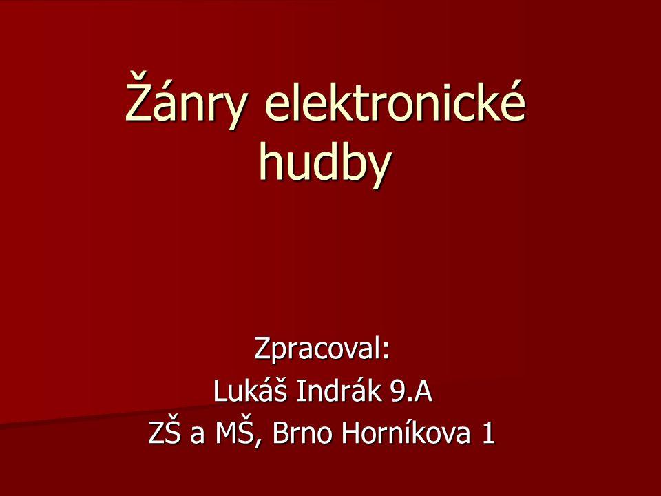 Žánry elektronické hudby