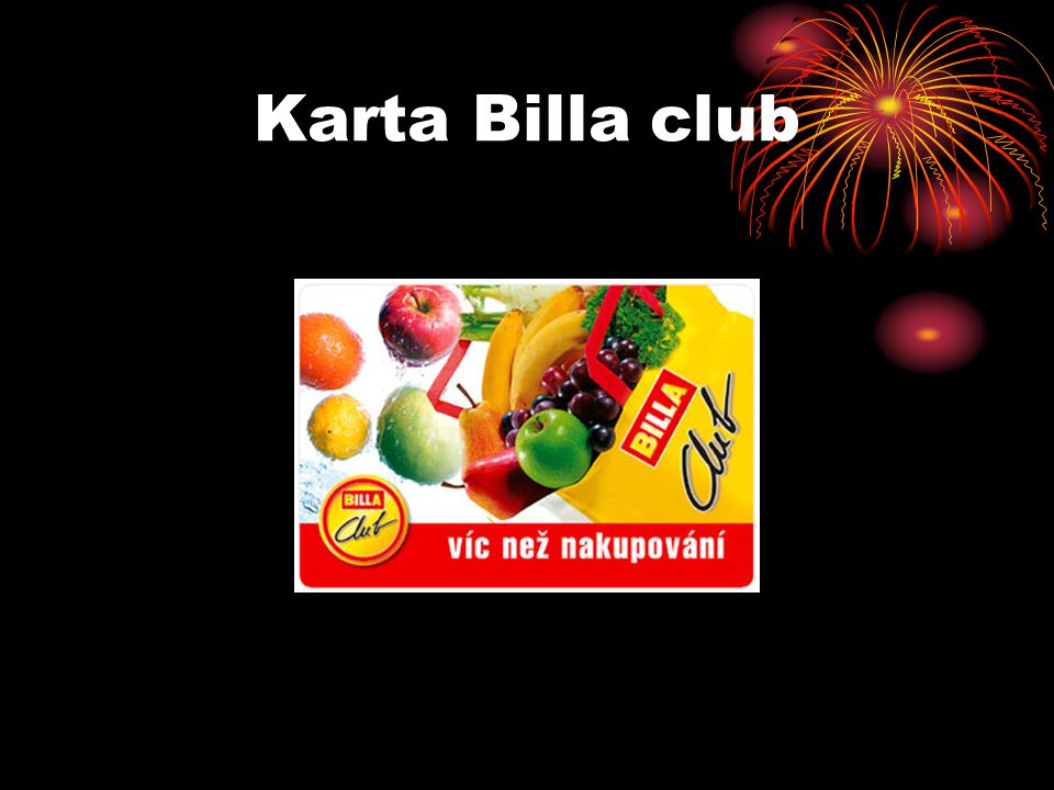 Karta Billa club