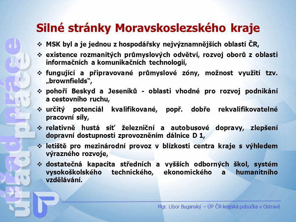Silné stránky Moravskoslezského kraje