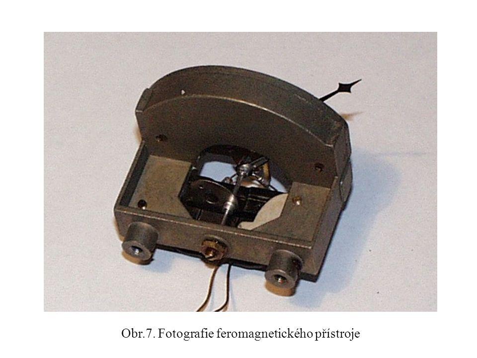Obr.7. Fotografie feromagnetického přístroje