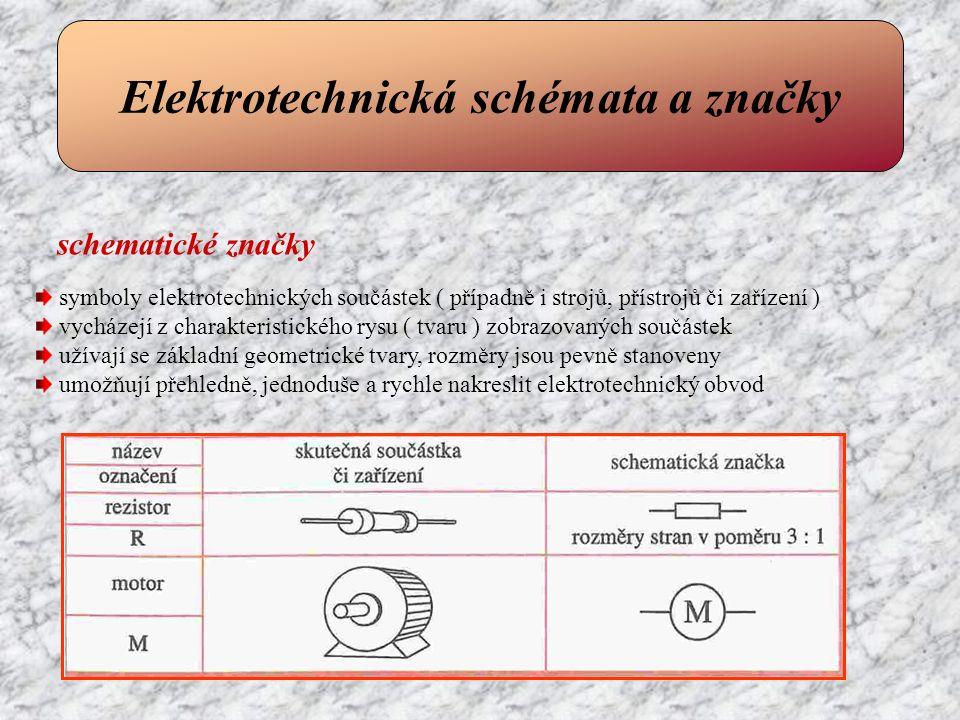 Elektrotechnická schémata a značky