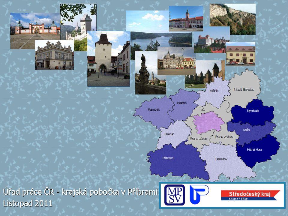 Úřad práce ČR - krajská pobočka v Příbrami Listopad 2011