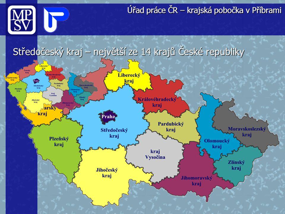 Středočeský kraj – největší ze 14 krajů České republiky