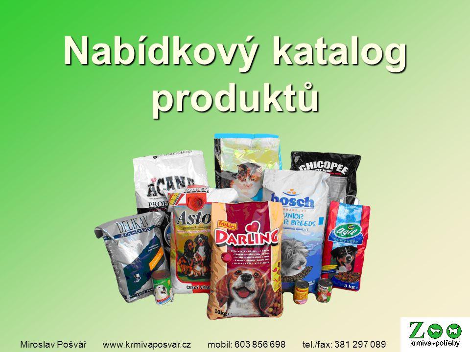 Nabídkový katalog produktů