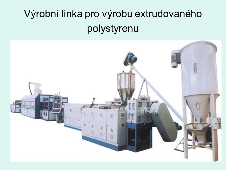 Výrobní linka pro výrobu extrudovaného polystyrenu