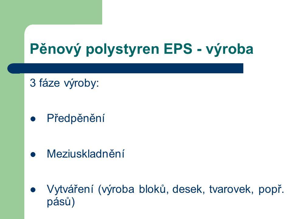Pěnový polystyren EPS - výroba