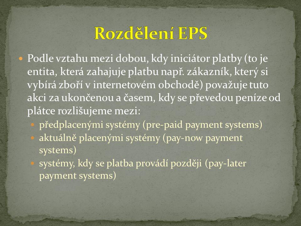 Rozdělení EPS