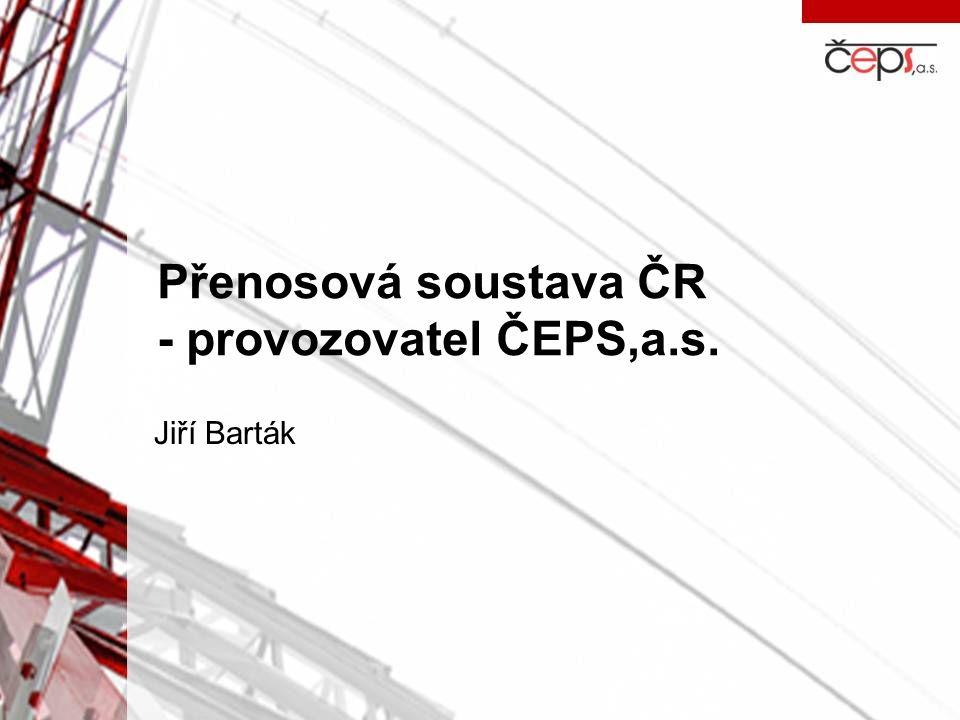 Přenosová soustava ČR - provozovatel ČEPS,a.s.