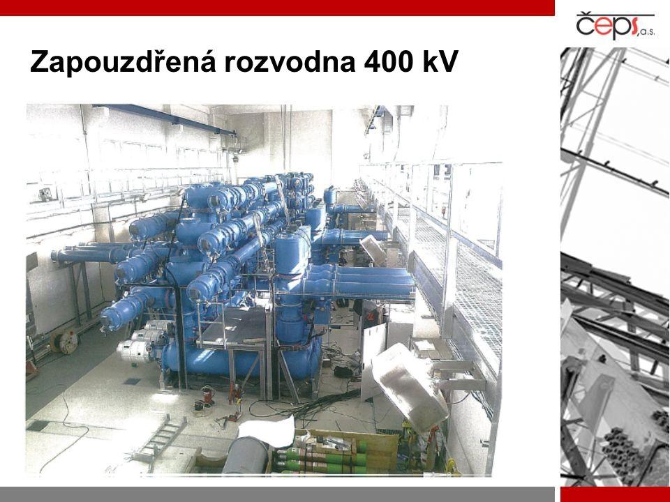 Zapouzdřená rozvodna 400 kV