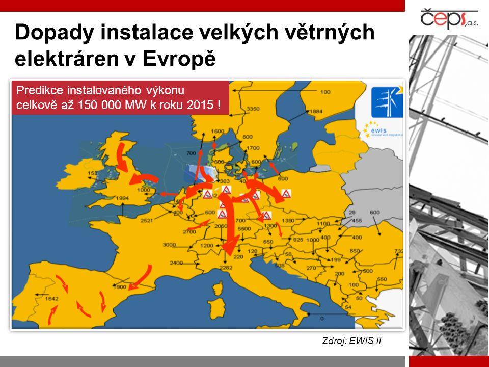 Dopady instalace velkých větrných elektráren v Evropě