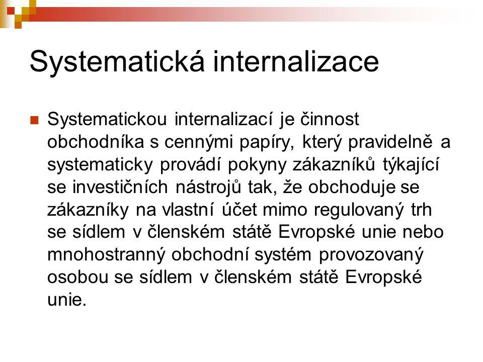 Systematická internalizace