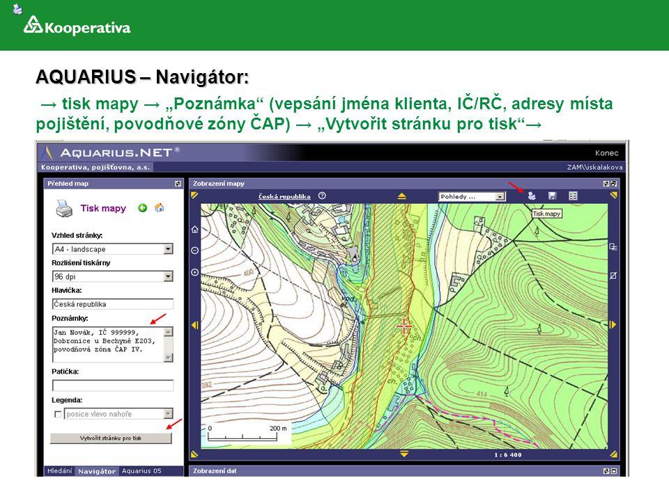 AQUARIUS – Navigátor: