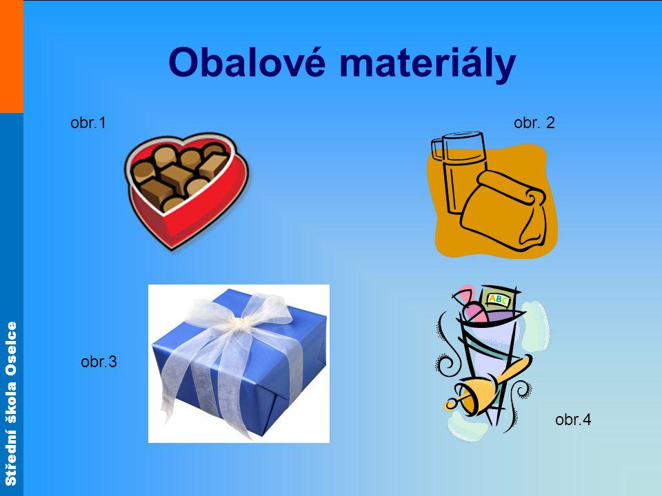 Obalové materiály obr.1 obr. 2 obr.3 obr.4
