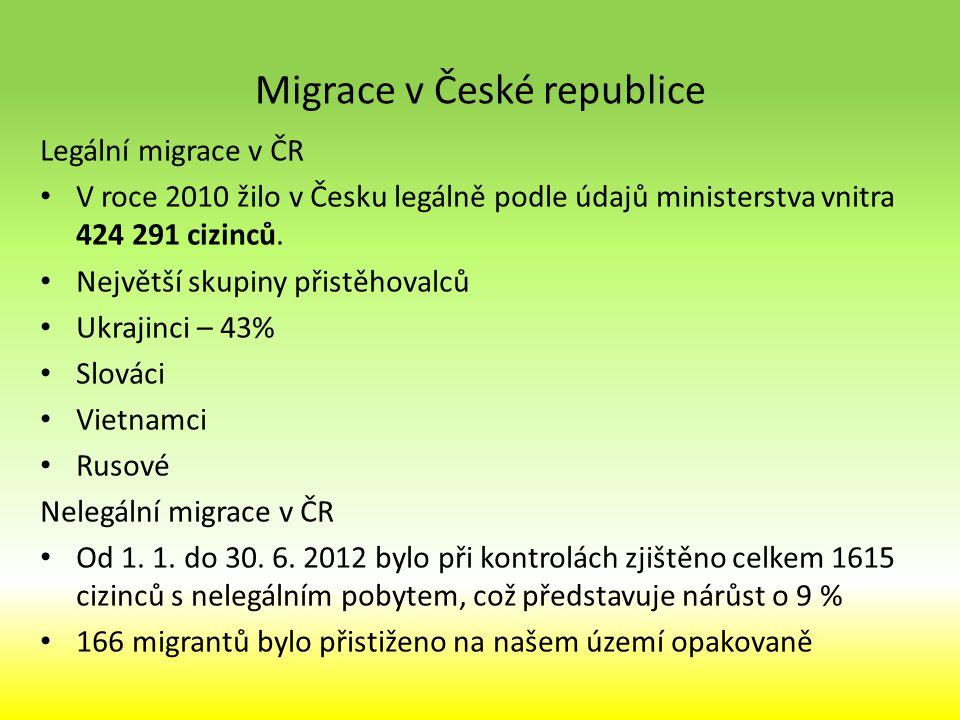 Migrace v České republice