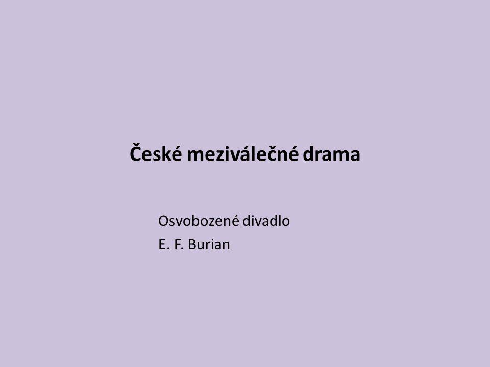 České meziválečné drama