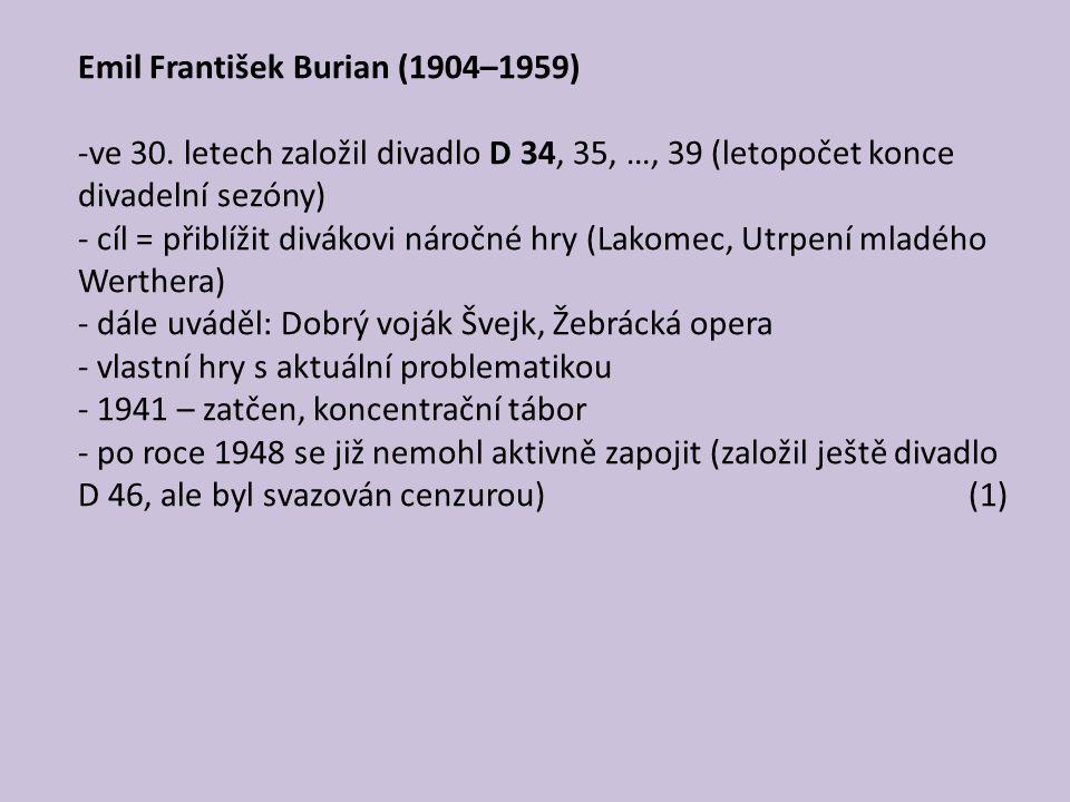 Emil František Burian (1904–1959)