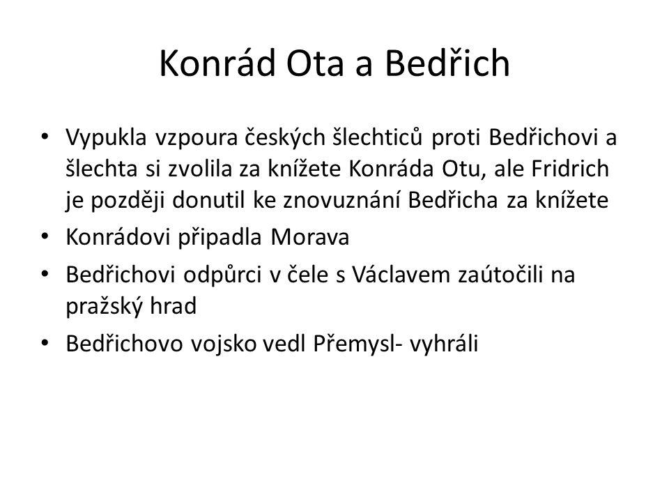 Konrád Ota a Bedřich