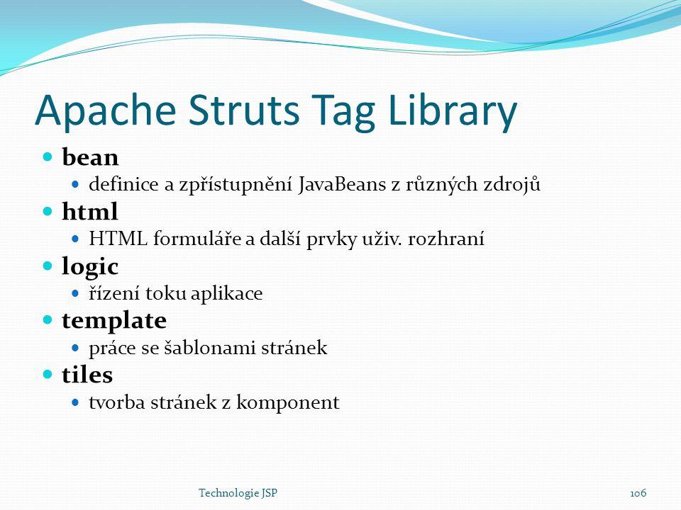 Apache Struts Tag Library