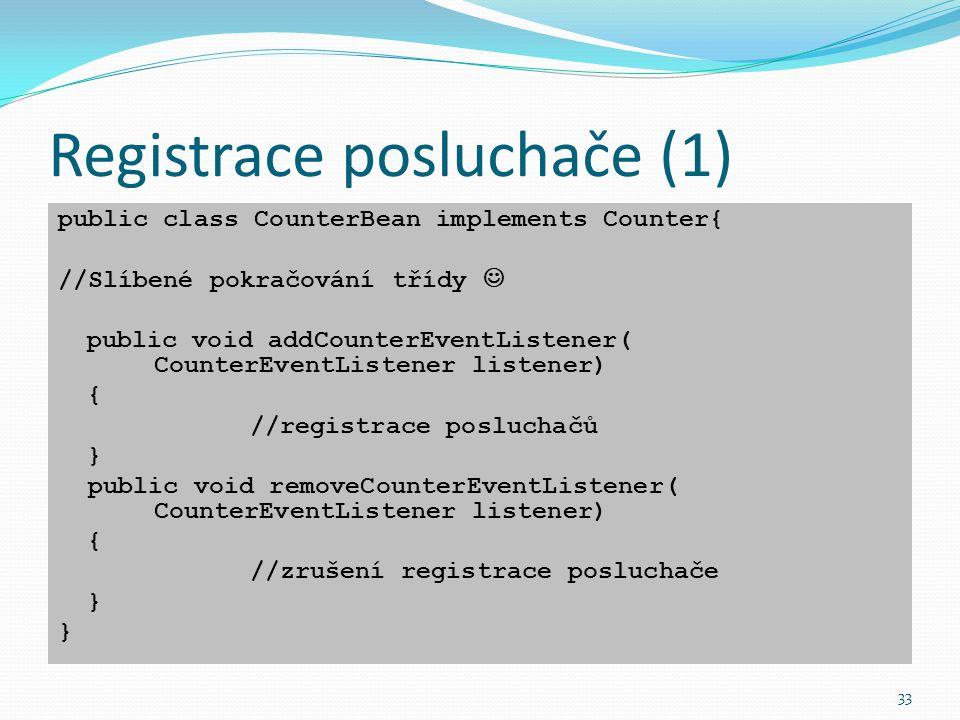 Registrace posluchače (1)