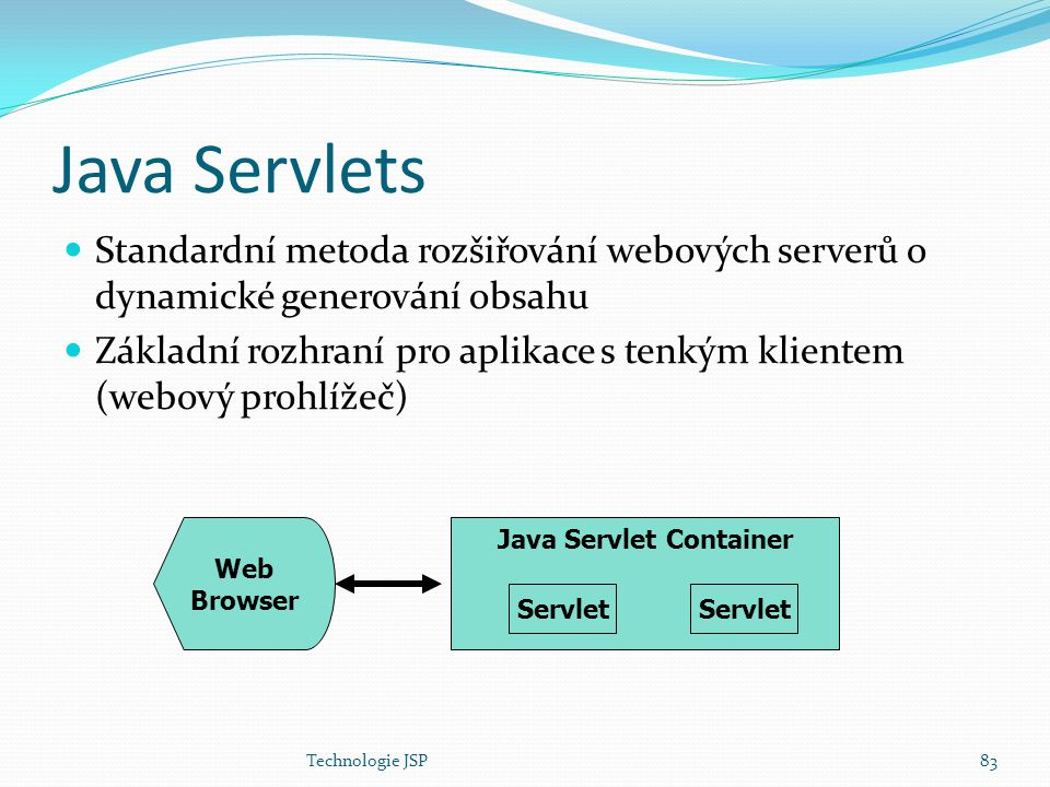 Java Servlet Container