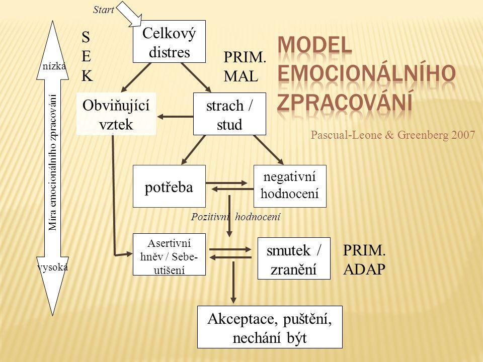 Model emocionálního zpracování
