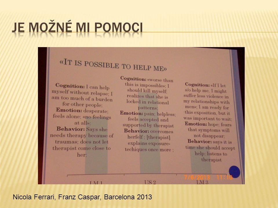 Je možné mi pomoci Nicola Ferrari, Franz Caspar, Barcelona 2013