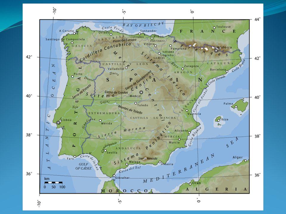 Španělsko ekonomické regiony