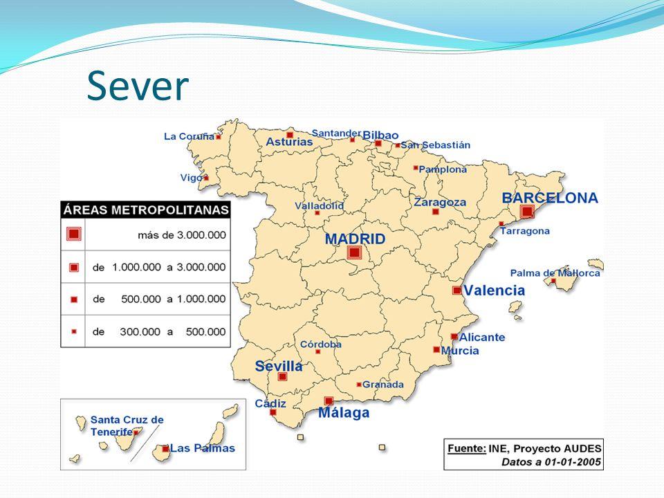 Sever oblast energetického a těžebního průmyslu