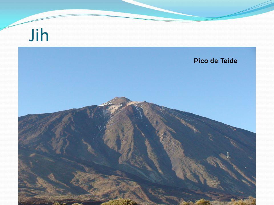 Jih jih Pyrenejského poloostrova a Kanárské ostrovy