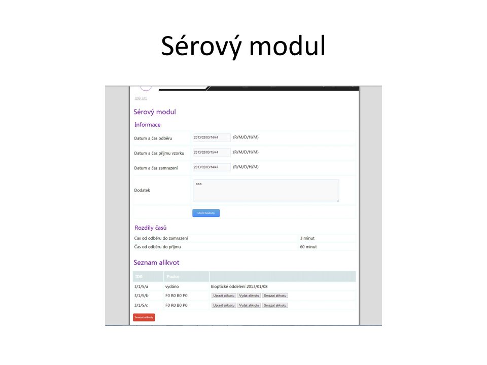 Sérový modul