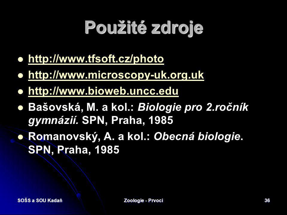 Použité zdroje http://www.tfsoft.cz/photo