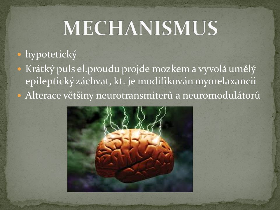 MECHANISMUS hypotetický