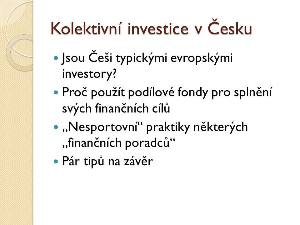 Kolektivní investice v Česku