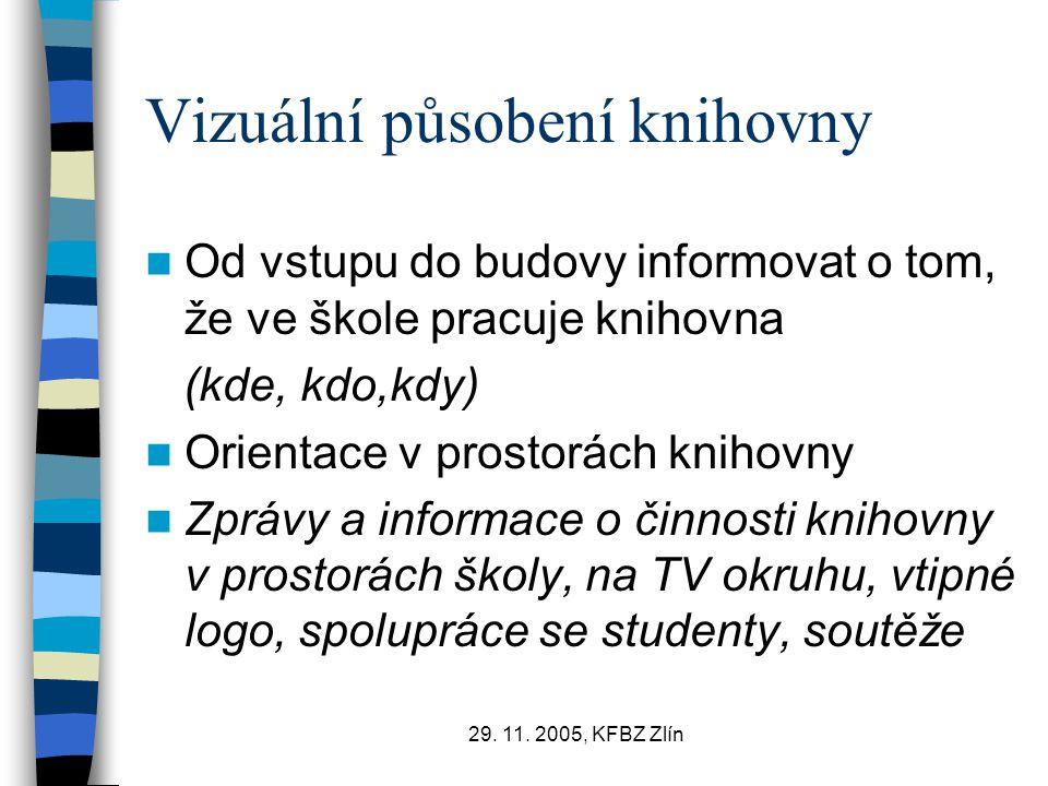 Vizuální působení knihovny