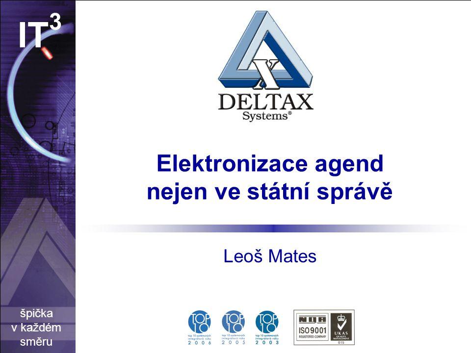 Elektronizace agend nejen ve státní správě