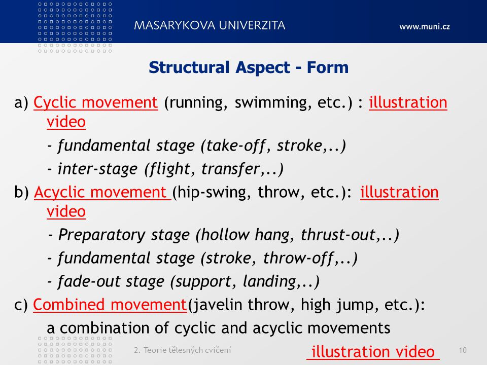 Structural Aspect - Form