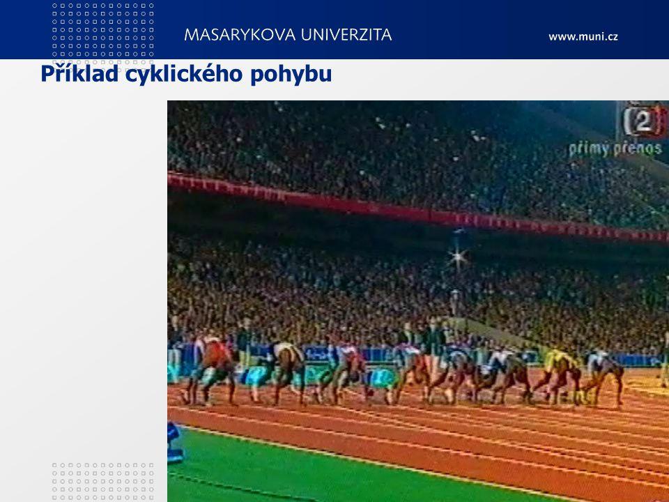 Příklad cyklického pohybu