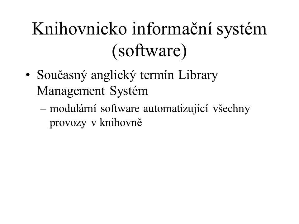 Knihovnicko informační systém (software)