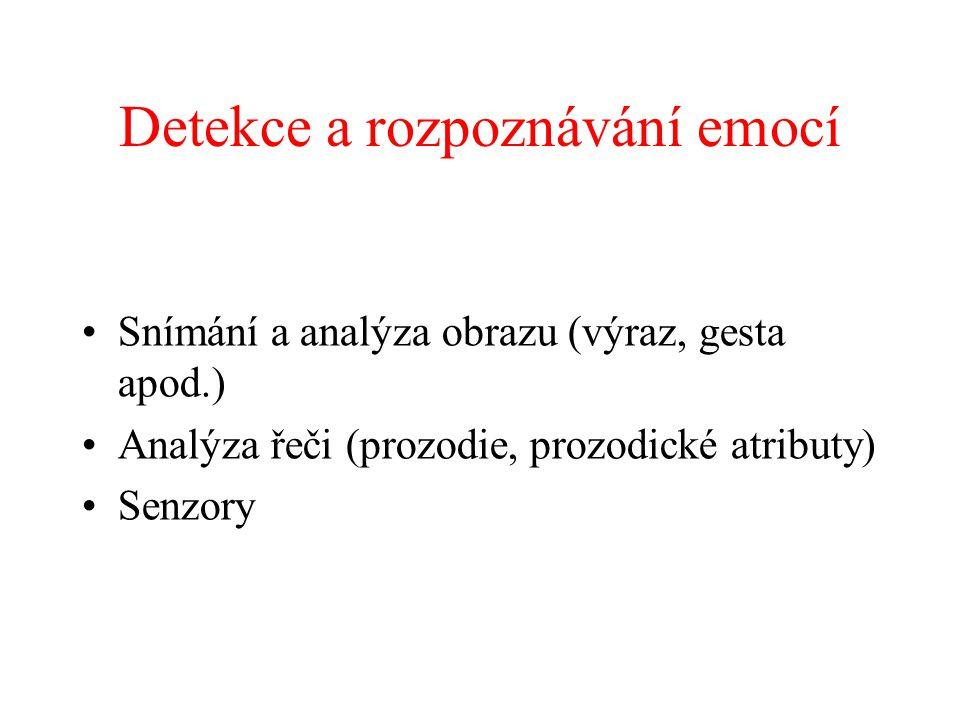 Detekce a rozpoznávání emocí