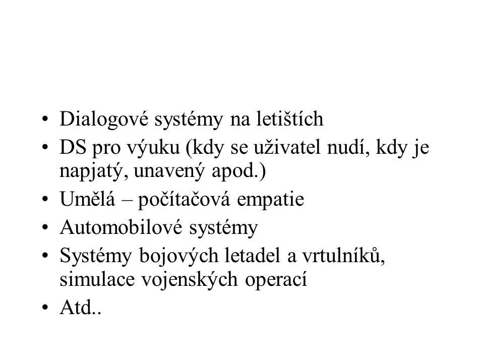 Dialogové systémy na letištích